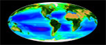 SeaWiFS Ocean Chlorophyll & Land Vegetation Index