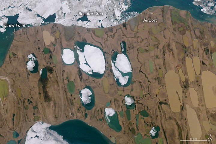 Alaska in Flux: Slumping Coastlines