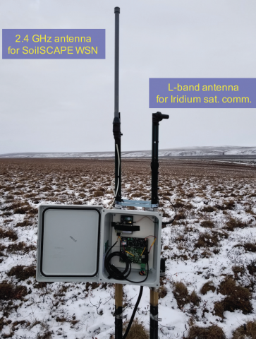 Wireless Networks Gather Soil Moisture Data in the Arctic